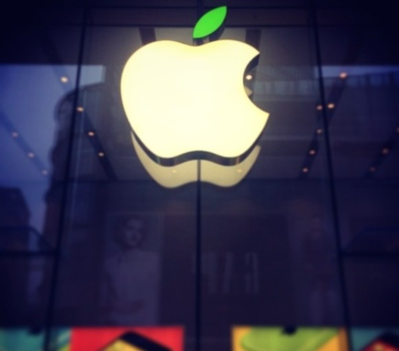 Το πράσινο λογότυπο της Apple για την Ημέρα της Γης
