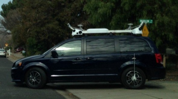 "H Apple επιβεβαιώνει ότι τα ""μυστηριώδη"" βανς της χρησιμοποιούνται για χαρτογράφηση"