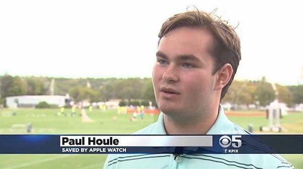 Το Apple Watch σώζει τη ζωή 17χρονου αθλητή