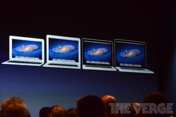 WWDC 2012: Νέα MacBook Air και εντυπωσιακό MacBook Pro με Retina οθόνη