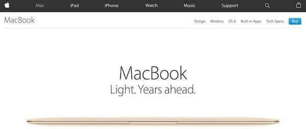 Apple.com : Eπανασχεδιασμός της ιστοσελίδας απο την Apple