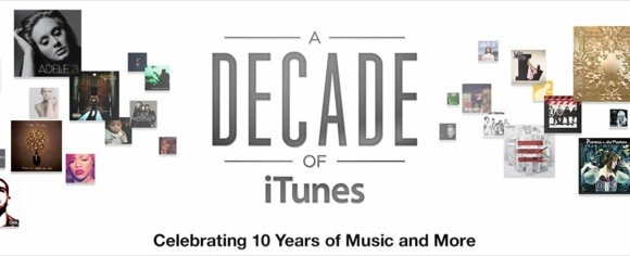 """A Decade of iTunes"", ένα διαδραστικό timeline της πορείας του iTunes Store από το 2003 μέχρι σήμερα"