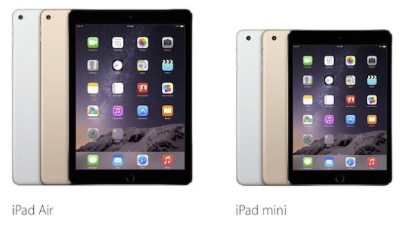 Επίσημο: iPad Air 2 και iPad Mini 3 έρχονται στην Ελλάδα στις 29 Οκτωβρίου!