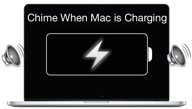 Πως να κάνεις το Mac σου να ηχεί όταν συνδέεις το φορτιστή του… σαν το iPhone