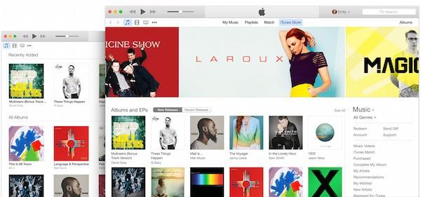 iTunes 12.2.1 με διορθώσεις σφαλμάτων που αφορούν το Apple Music