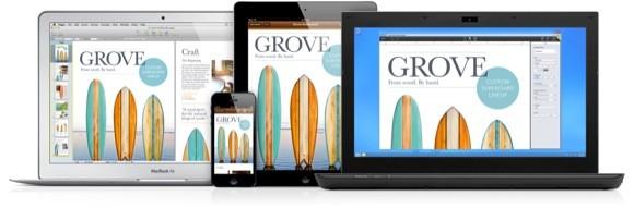 iWork for iCloud, διαθέσιμες για όλους οι δοκιμαστικές web εκδόσεις των Pages, Numbers και Keynote