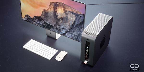 Mac Pro modular concept by Curved.de