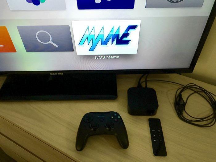 MAME emulator στο Apple TV 4ης γενιάς!