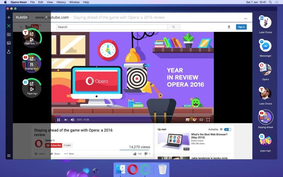 Opera Neon: Μία νέα πρόταση στους web browser που αξίζει να δοκιμάσεις