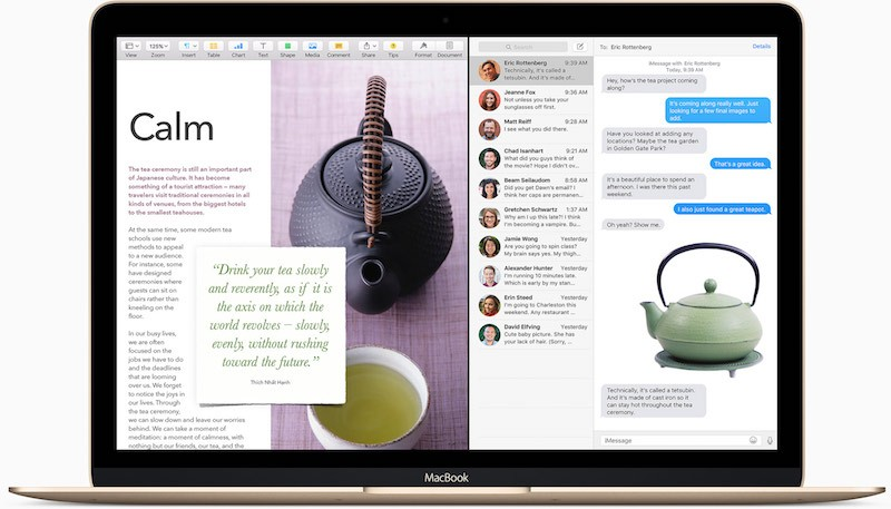 OS X El Capitan: Γνωριμία με το Split View