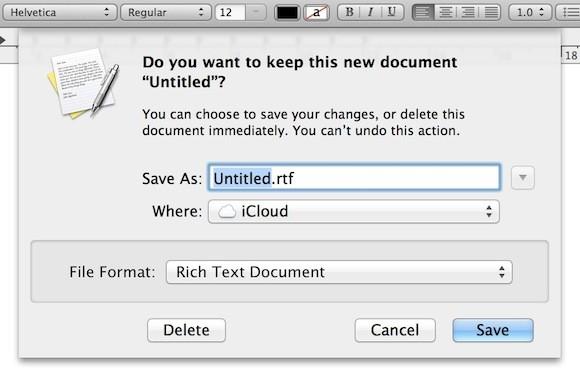 Αλλάξτε την προεπιλεγμένη τοποθεσία αποθήκευσης από το iCloud στο Mac