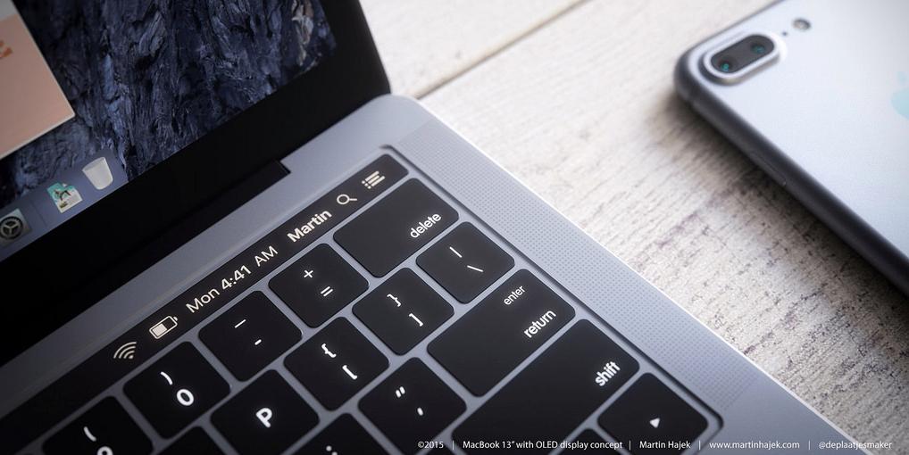 """Κώδικας στο macOS Sierra """"επιβεβαιώνει"""" τον ερχομό OLED touch bar και Touch ID στα Macbook Pro"""