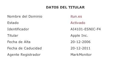 "To ""itun.es"" domain ανήκει στην Apple"