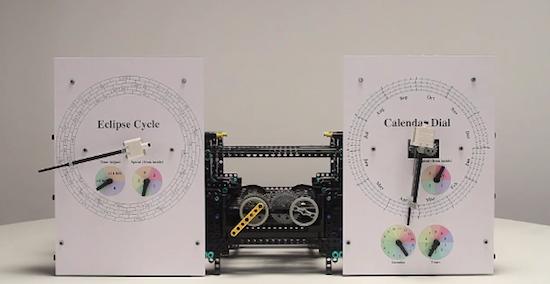 O Υπολογιστής των Αντικυθήρων από κομμάτια Lego
