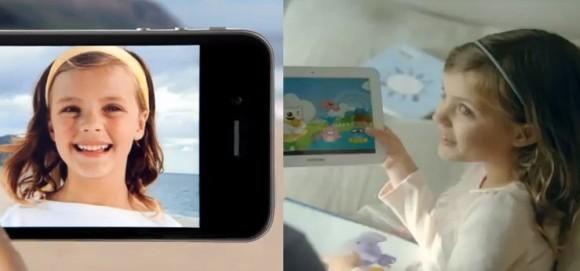 Η Samsung αντιγράφει τώρα και τις διαφημίσεις της Apple