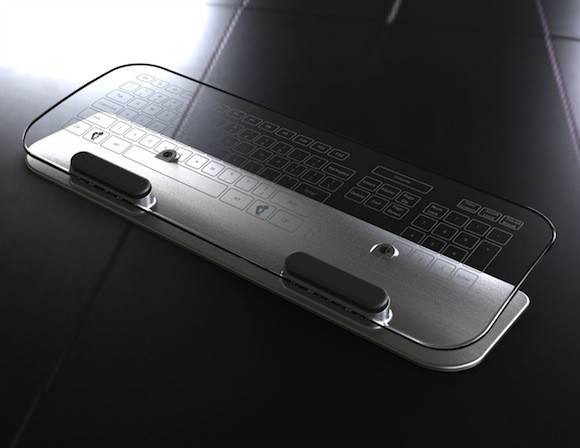 Multitouch πληκτρολόγιο και ποντίκι από γυαλί [Kickstarter]
