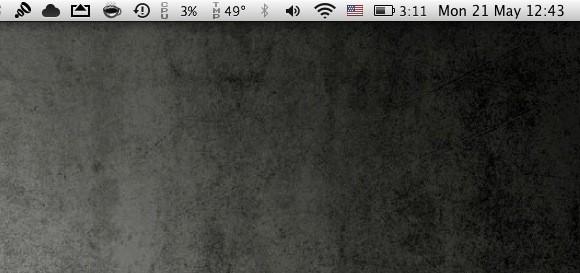 Αφαιρέστε το εικονίδιο του Spotlight από τη menu bar