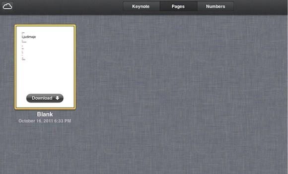 Προβλήματα στην λειτουργία του iCloud με τις εφαρμογές του iWork;
