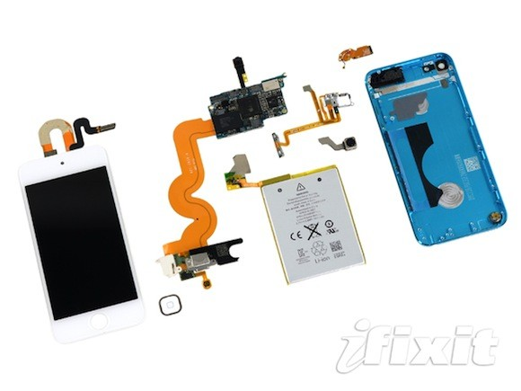 Το teardown του νέου iPod touch 5ης γενιάς