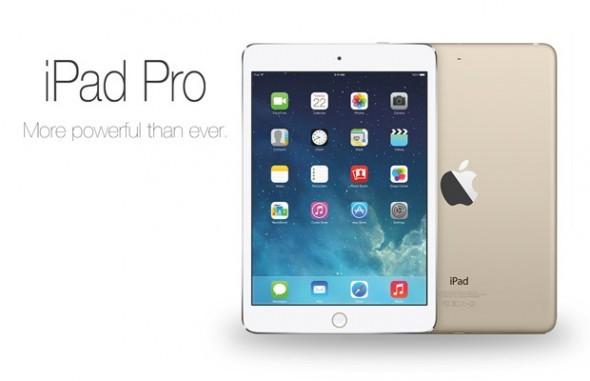 iPad Pro: Οθόνη 12.2″, στερεοφωνικά ηχεία πάνω και κάτω και πάχος 7mm(;)