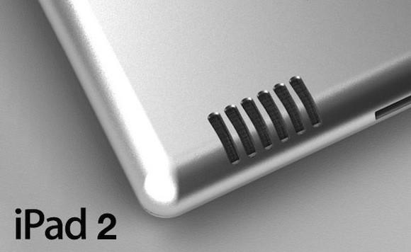 iPad 2: Μικρότερο μέγεθος, μεγαλύτερο ηχείο [leaked image]