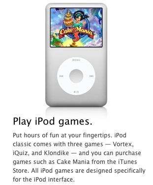 Αποσύρονται τα iPod Click Wheel παιχνίδια από το iTunes Store