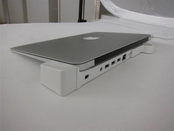 LandingZone: Κομψό docking station για το MacBook Air
