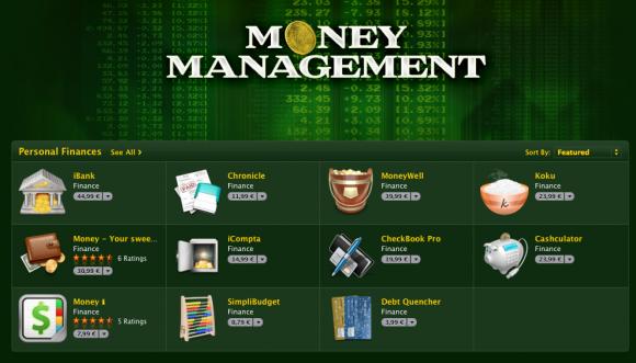 Money Management: Νέα κατηγορία εφαρμογών στο Mac App Store
