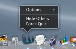 Κλείσιμο εφαρμογών στο Mac OS X