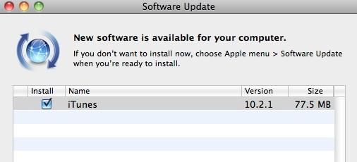 Διαθέσιμο το iTunes 10.2.1