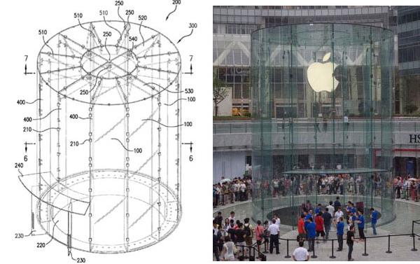 Η Apple καταθέτει πατέντα για τη γυάλινο είσοδο του Apple Store της Σαγκάης
