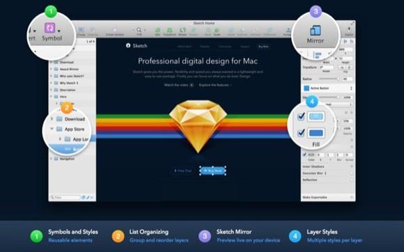 Sketch 3.0, κυκλοφόρησε στο Mac App Store