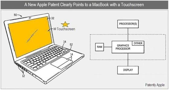 Multitouch MacBook με IPS oθόνες σε νέα πατέντα της Apple