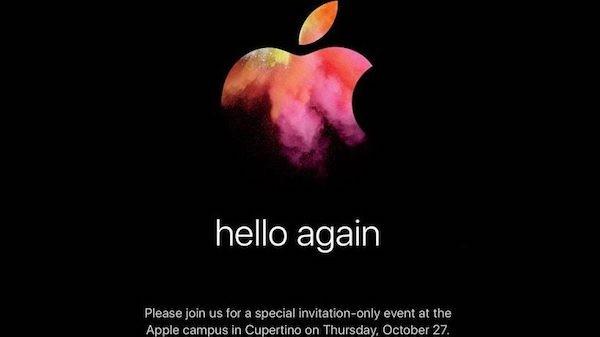 Eίναι επίσημο! Νέα Mac στις 27 Οκτωβρίου!