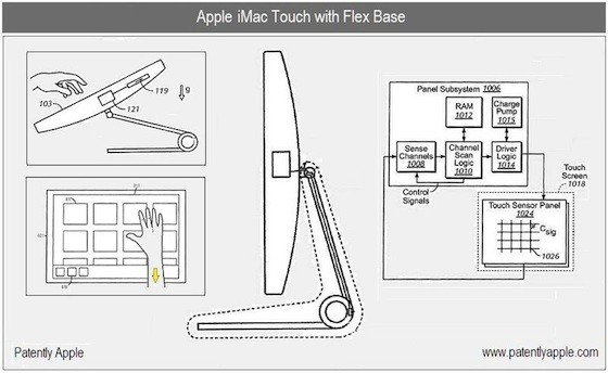 iMac Touch με υποστήριξη iOS σε πατέντα της Apple
