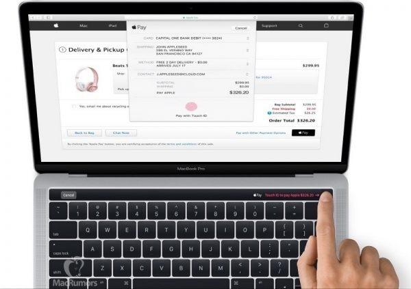 Νέο MacBook Pro (2016): Διαρροή δείχνει πώς ακριβώς είναι το νέο OLED touch panel και το Touch ID !!!