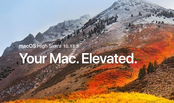 macOS High Sierra 10.13.5 με υποστήριξητης λειτουργίας Messages in iCloud
