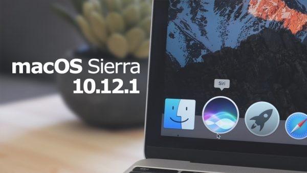 macOS Sierra 10.12.1: Διαθέσιμο το 1o update του macOS Sierra