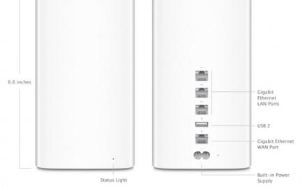 Η Apple αναβαθμίζει τα AirPort Extreme & Time Capsule με 802.11ac Wi-Fi και νέο σχεδιασμό