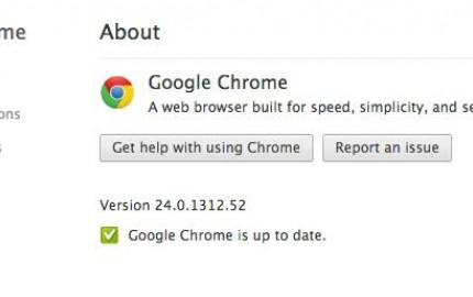 Google Chrome 24, διαθέσιμη η τελική έκδοση με ταχύτερη JavaScript και υποστήριξη MathML
