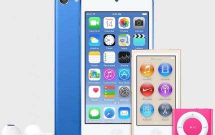 Έρχονται νέα iPod, σε νέα χρώματα