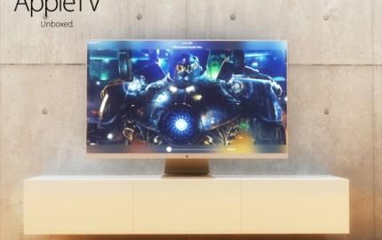 Apple TV, ενδιαφέρον concept με κυρτή οθόνη