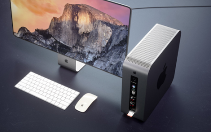 Mac Pro modular concept by Curved.de