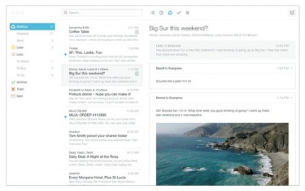 H Dropbox φέρνει το Mailbox στο Mac