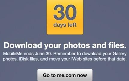 MobileMe: Υπενθύμιση για λήξη της υπηρεσίας στις 30 Ιουνίου