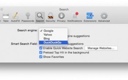 Μάχη Microsoft-Yahoo για την επιλογή της default μηχανής αναζήτησης του Safari