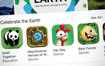 Apple: Apps for Earth και έμπρακτη οικονομική στήριξη του WWF