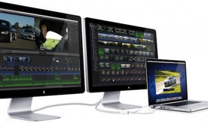 H Apple παρουσιάζει την Thunderbolt Display