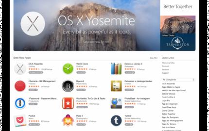 Mac App Store: Ανανεωμένο περιβάλλον με εμφάνιση αλά Yosemite