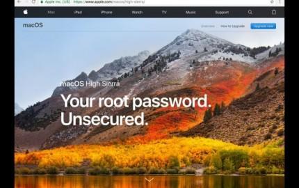 Επιδιόρθωση του File Sharing μετά την εγκατάσταση του Security Update 2017-001 για το macOS High Sierra 10.13.1